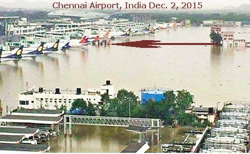 Chennai-airport-inundated